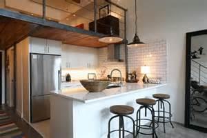 loft kitchen ideas 15 of the most kitchens a mezzanine