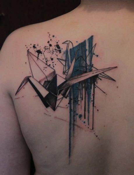 geometric tattoo artist usa origami by gene coffey tattoo artist brooklyn ny usa