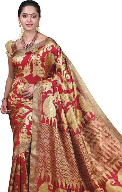 Traditional Silk Vivah Bridal Saree 2013 by TCS