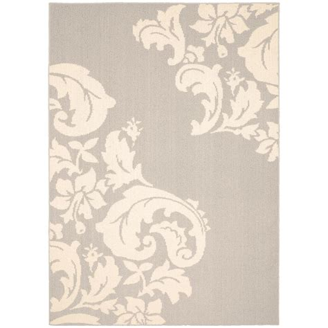 Garland Rug by Garland Rug Cambridge Silver Ivory 5 Ft X 7 Ft Area Rug