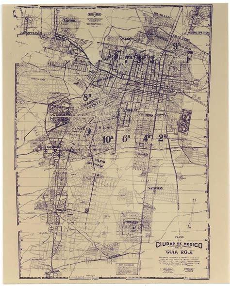 gua de ciudades la evoluci 243 n de la ciudad de m 233 xico a trav 233 s de los mapas geograf 237 a infinita