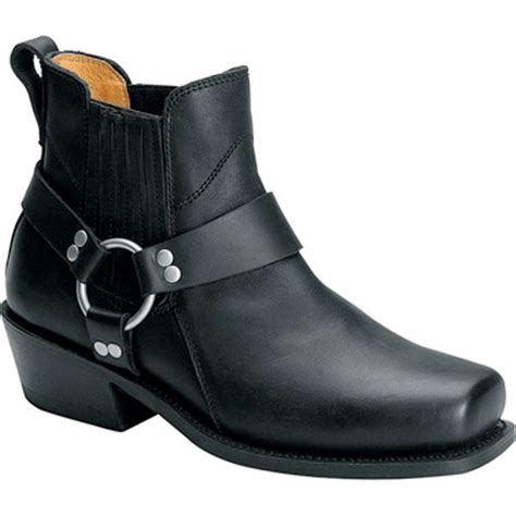 mens short motorcycle boots mens leather motorcycle short harness boot by altimate ebay