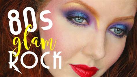 tutorial makeup rock 80s glam rock makeup tutorial youtube