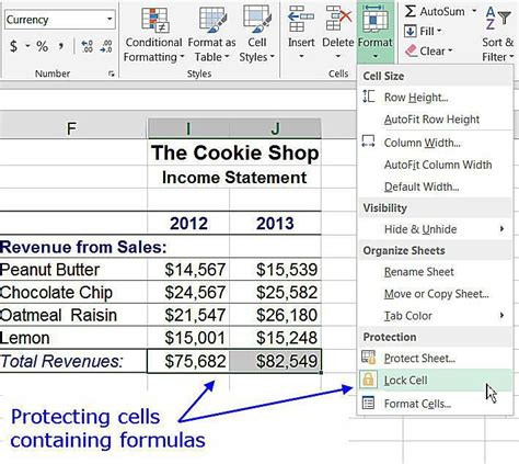 excel lock layout how to lock cells and protect worksheets in excel