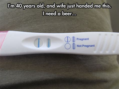 Pregnancy Test Meme - the beginning of the end the meta picture