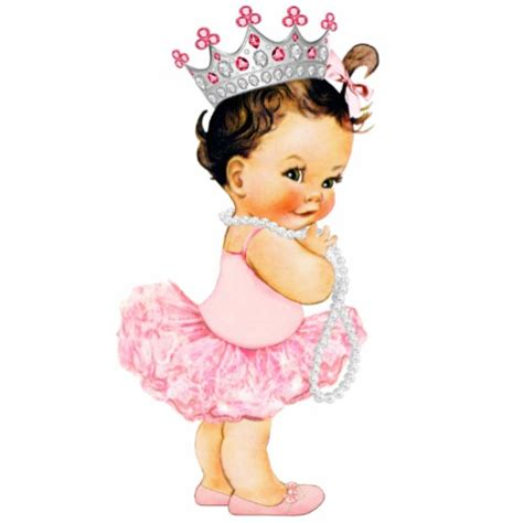 Pocheprincess In Baby Pink by Vintage Pink Ballerina Princess Baby Shower Standing