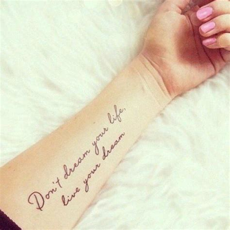 50 inspirational quote tattoos would definitely want to