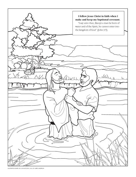 john the baptist coloring pages for kids az coloring pages