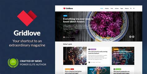 Themeforest Gridlove | themeforest gridlove download creative grid style news
