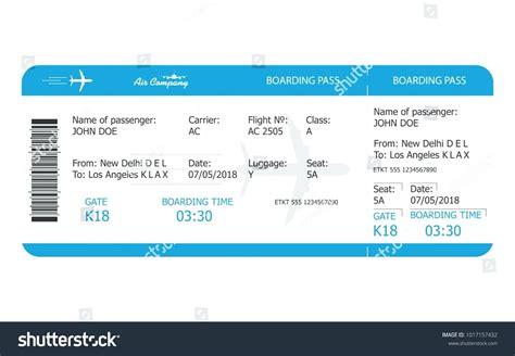 Template Travel Ticket Template Travel Ticket Template
