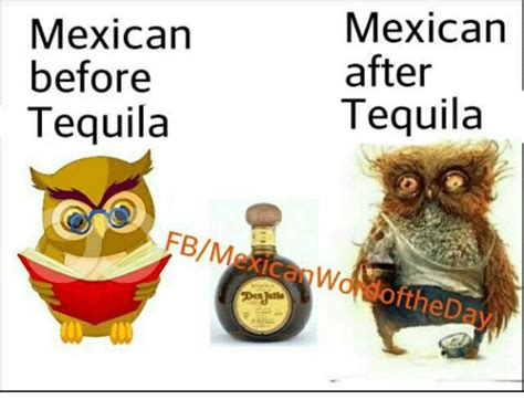 Tequila Memes - mexican before tequila fbm mexican after tequila softhed
