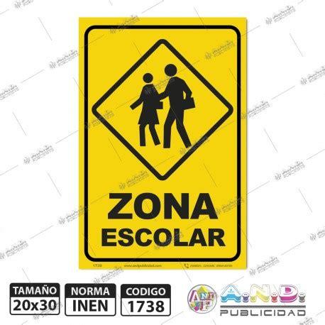 imagenes de zonas escolares se 241 aletica a4 quot zona escolar quot se 241 aletica a n d publicidad