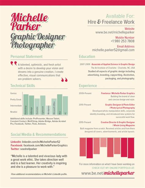 graphic designer resume tips 27 best tips p 229 olika annorlunda cv images on