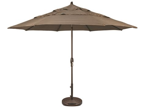 Treasure Garden Patio Umbrella Treasure Garden Market Aluminum 11 Octagon Auto Tilt Crank Lift Umbrella Um812