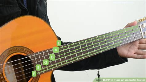 Tuner Gitar 3 ways to tune an acoustic guitar wikihow