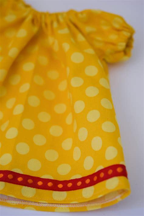 egg pattern clothes doll dressmaking series peasant dress pattern phoebe egg