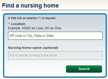 nursing homes term care directories information