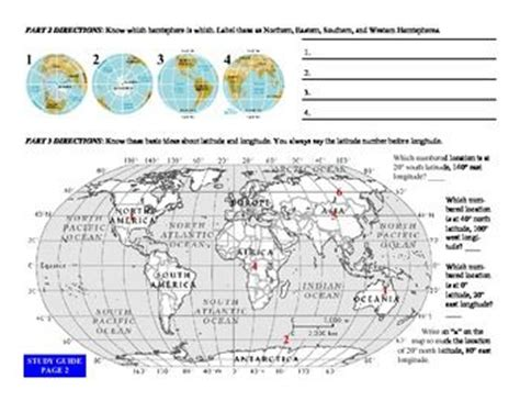 globe and maps lesson plan solving equations all four operations grade 6 120 math