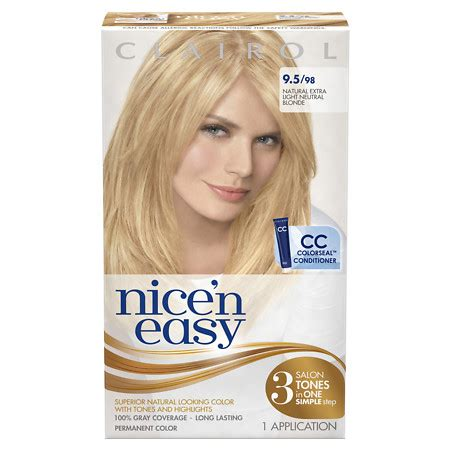 clairol nice n easy hair color only 2 50 at walgreens clairol nice n easy hair color only 3 99 walgreens 7