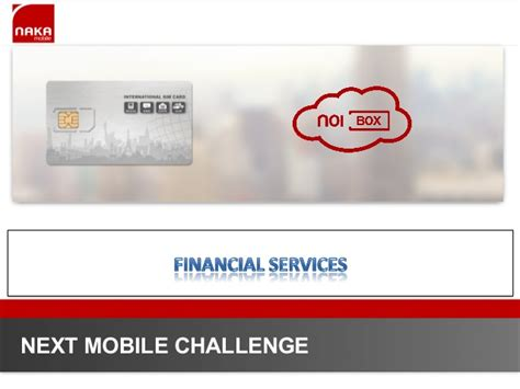 challenge financial services financial services the next mobile challenge