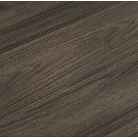 trafficmaster allure 6 in x 36 in iron wood luxury vinyl plank flooring 24 sq ft case