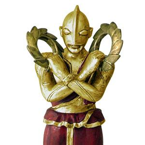 Gold Product Robot Ultraman by Ultra Twelve Heavenly Generals Gaiden Gold Version