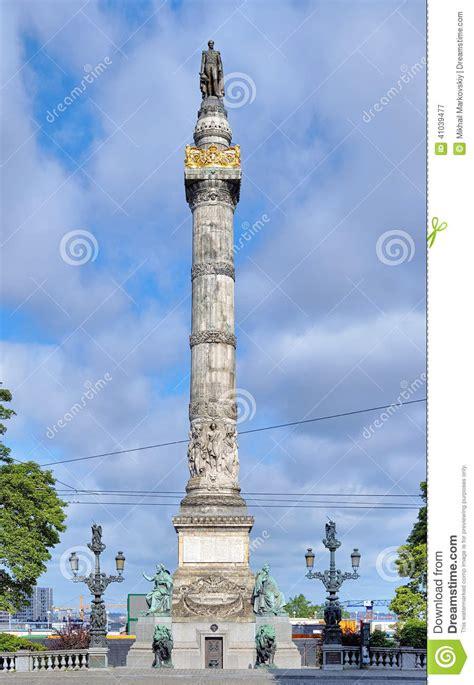 colonne de belgique colonne du congr 232 s 224 bruxelles belgique photo stock image 41039477