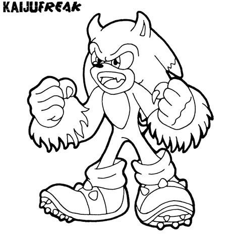 sonic monster coloring page free coloring pages of monster sonic