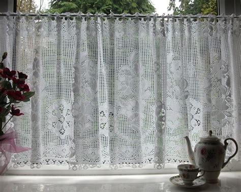 nottingham lace curtains nottingham lace cotton cafe curtain cn1a