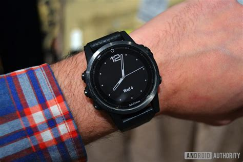 Garmin Fenix 5 wrists on with garmin s new fenix 5 lineup at ces 2017 android authority