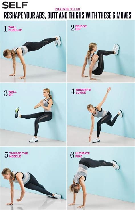 6 that ll work your abs and thighs in the best way