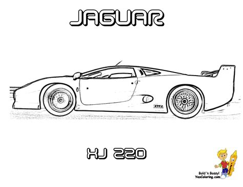 jaguar cars coloring pages free jaguar cars coloring pages