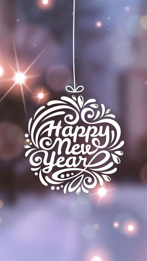 happy new year wallpaper for iphone 5 happy new year typography globe iphone 6 wallpaper hd
