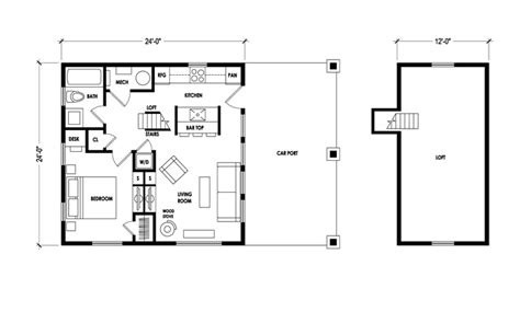 House Plans Cottage latest micro cabin