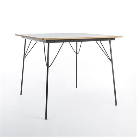 herman miller eames dining table dtm drop table dining table by charles eames for