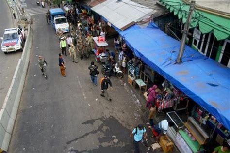 Karpet Lantai Pasar Gembrong satu harapan pasar gembrong bersih dari pkl