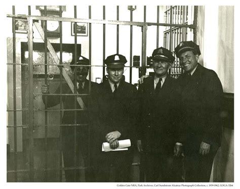 Prison Inmate Records Inside Alcatraz Prison