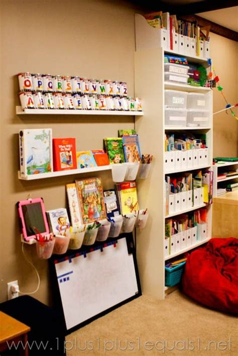 room tour small bedroom storage ideas and organizing for homeschool organizations and room tour on pinterest