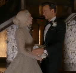 wedding horror stories lady gaga is ultimate bridezilla as the countess in american horror story hotel daily mail online