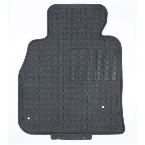 2015 mazda 3 black rubber all weather floor mats for