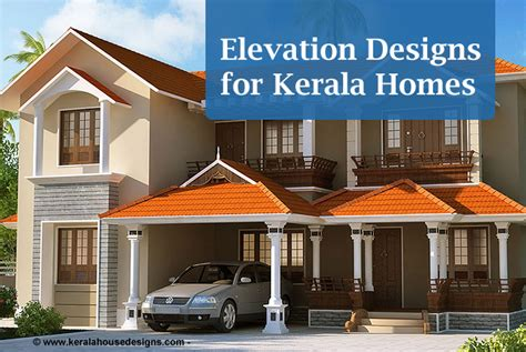 elevation designs for homes in kerala artech realtors