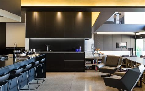 Matte Black Kitchen Design Interior Design Ideas Black Kitchen Design