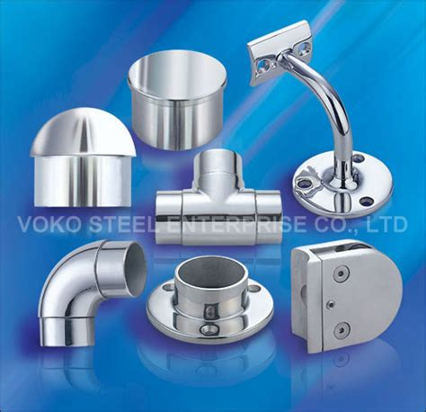 Banister Fittings by Voko Steel Handrail Fittings