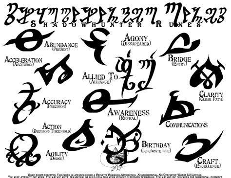 shadowhunter glyphrunes set 1 by far eviler on deviantart