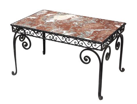 marble and wrought iron coffee table wrought iron marble top coffee table jo
