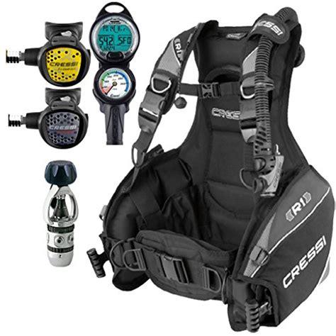 dive bcd cressi r1 bcd scuba gear package
