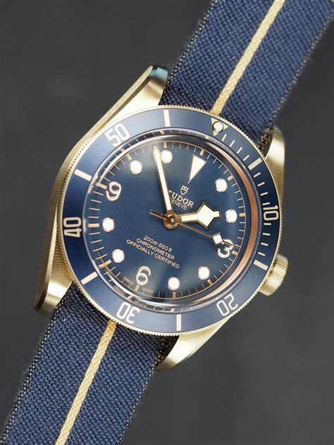 guide to buying a introducing the tudor black bay bronze blue special edition for bucherer