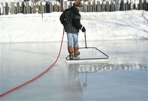 backyard rink ice thickness backyard ice rink accessories 32 inch ice master economy