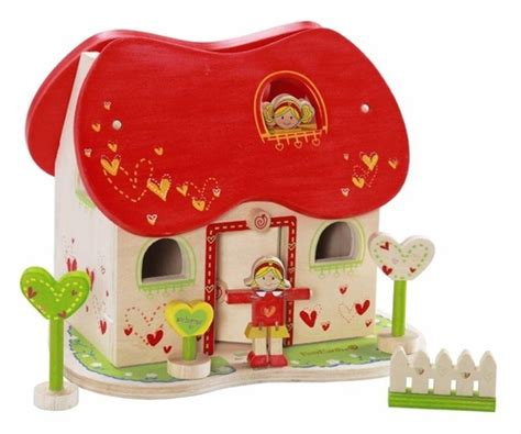 fairy doll houses lili rose tea party djeco wild woodland toys
