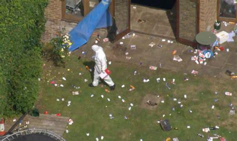 swinging in surrey surrey murder probe man dies and several injured at